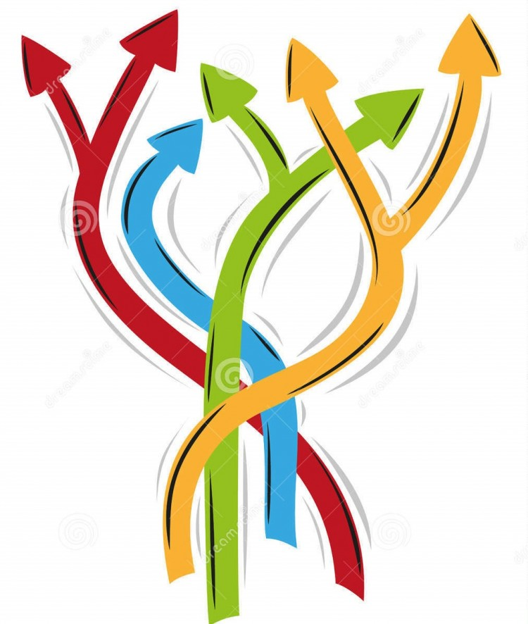 tangle-arrows-as-symbol-many-different-ways-30268851